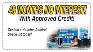 The Woodlands TX Air Conditioning Finance
